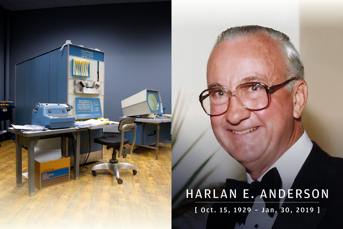 CW  >  In Memoriam 2019  >  Harlan E. Anderson