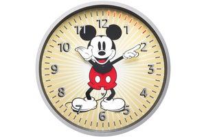 echo wall clock disney mickey mouse edition