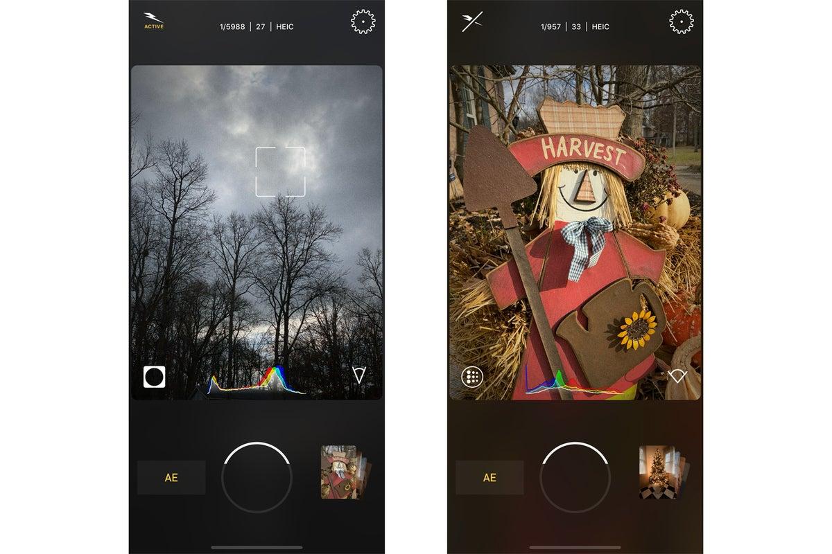 filmic firstlight user interface