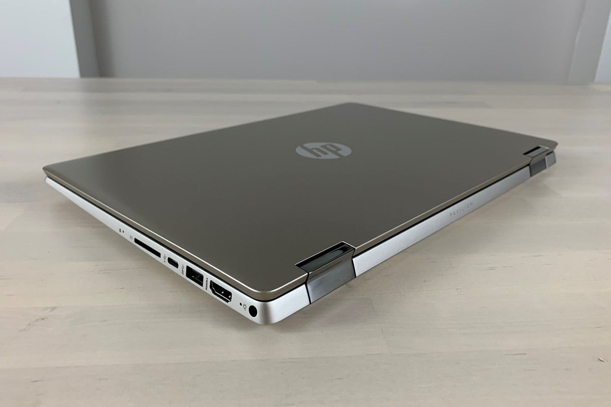Hp Pavilion X360 14m Dh0003dx Review A Sturdy 2 In 1 With Dependable Quad Core Performance Pcworld