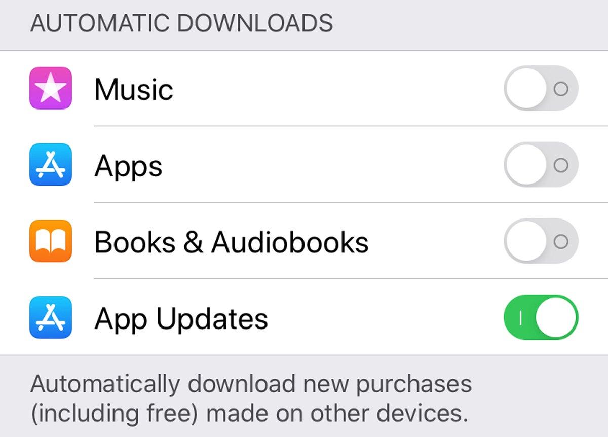 ios13 auto app updates