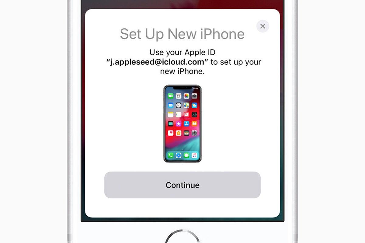 iphone 8 quick start