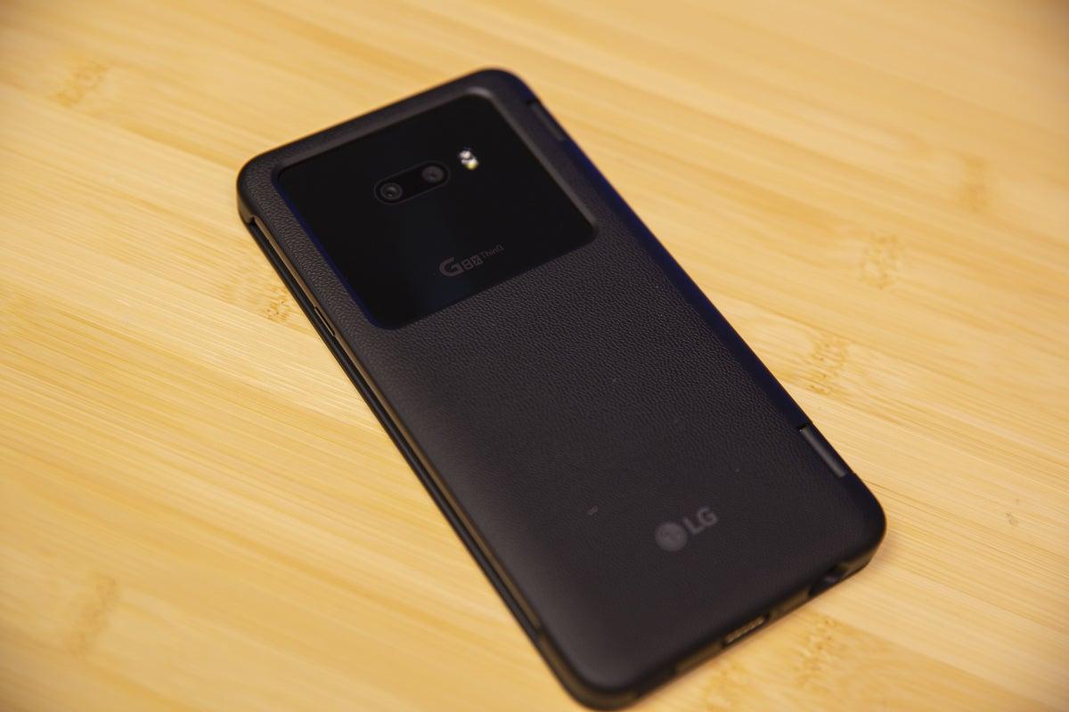 lg g8x back case