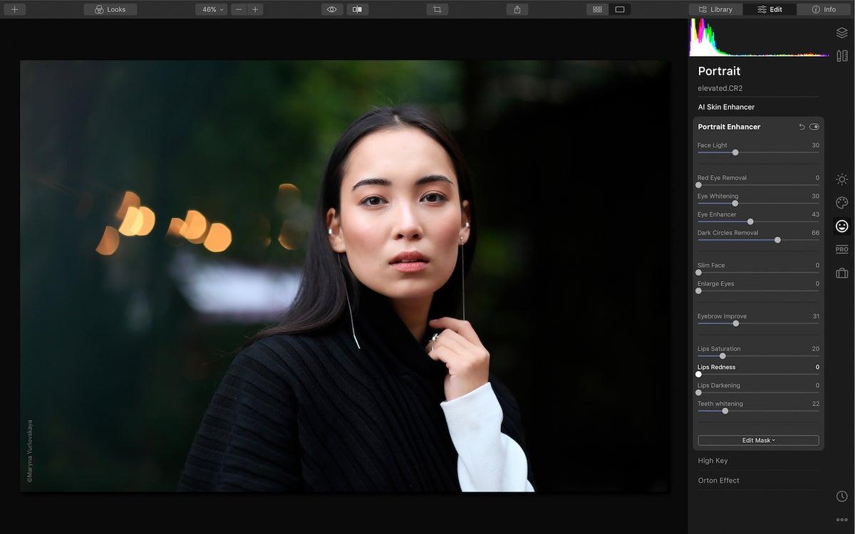 luminar 4 portrait enhancer