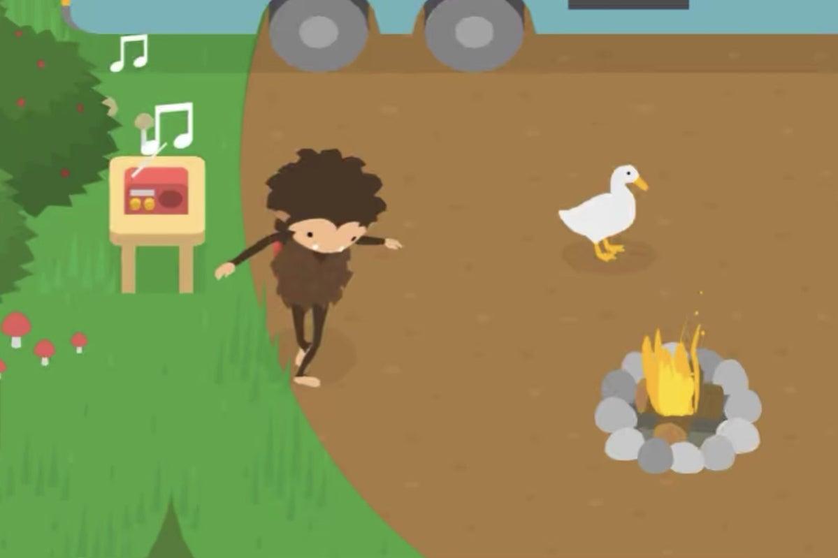 sneaky sasquatch goose