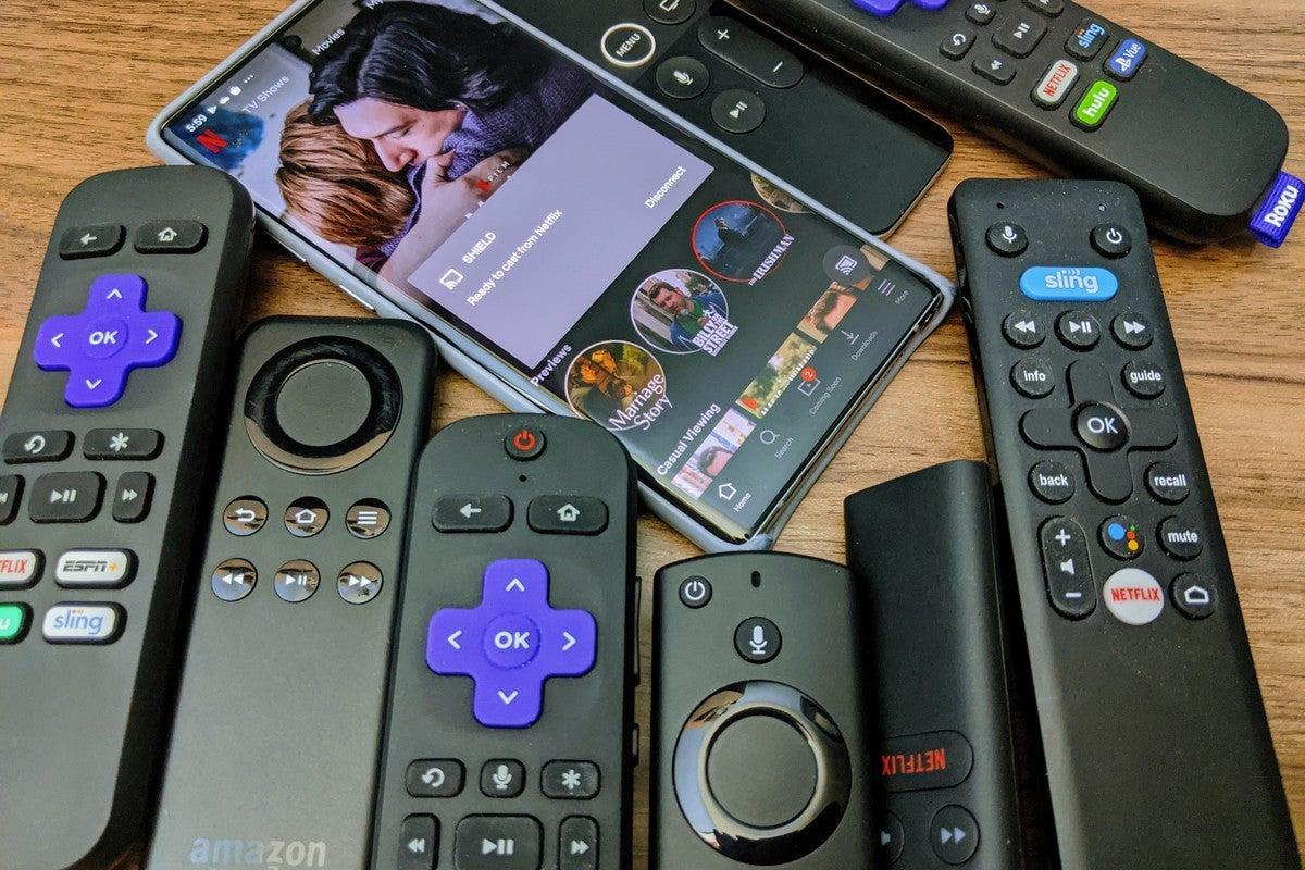Media streamer remotes, ranked