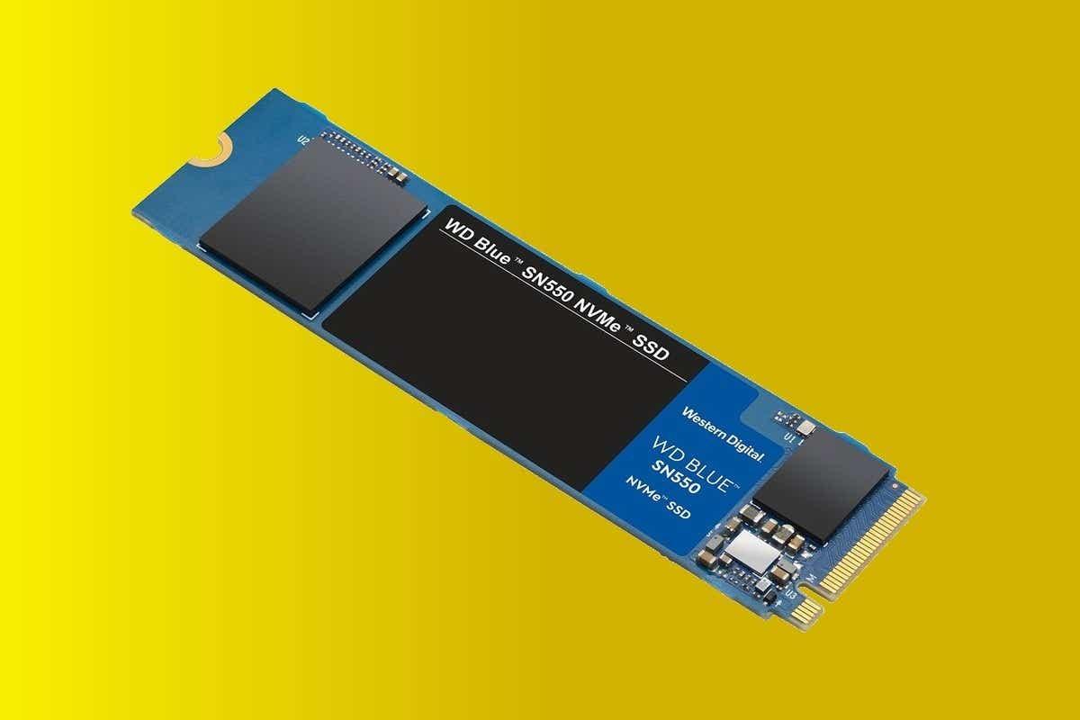 WD Blue SN550 NVMe M.2 SSD