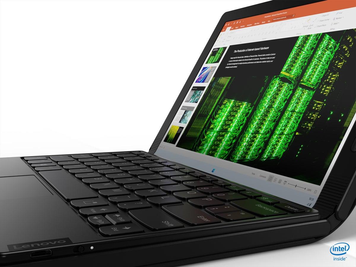 Lenovo ThinkPad X1 Fold keyboard