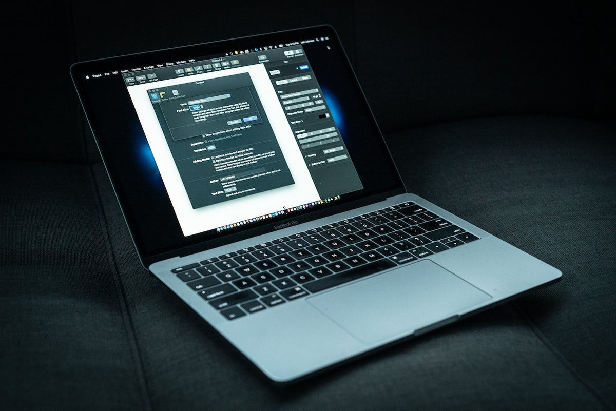 13 inch macbook pro pages