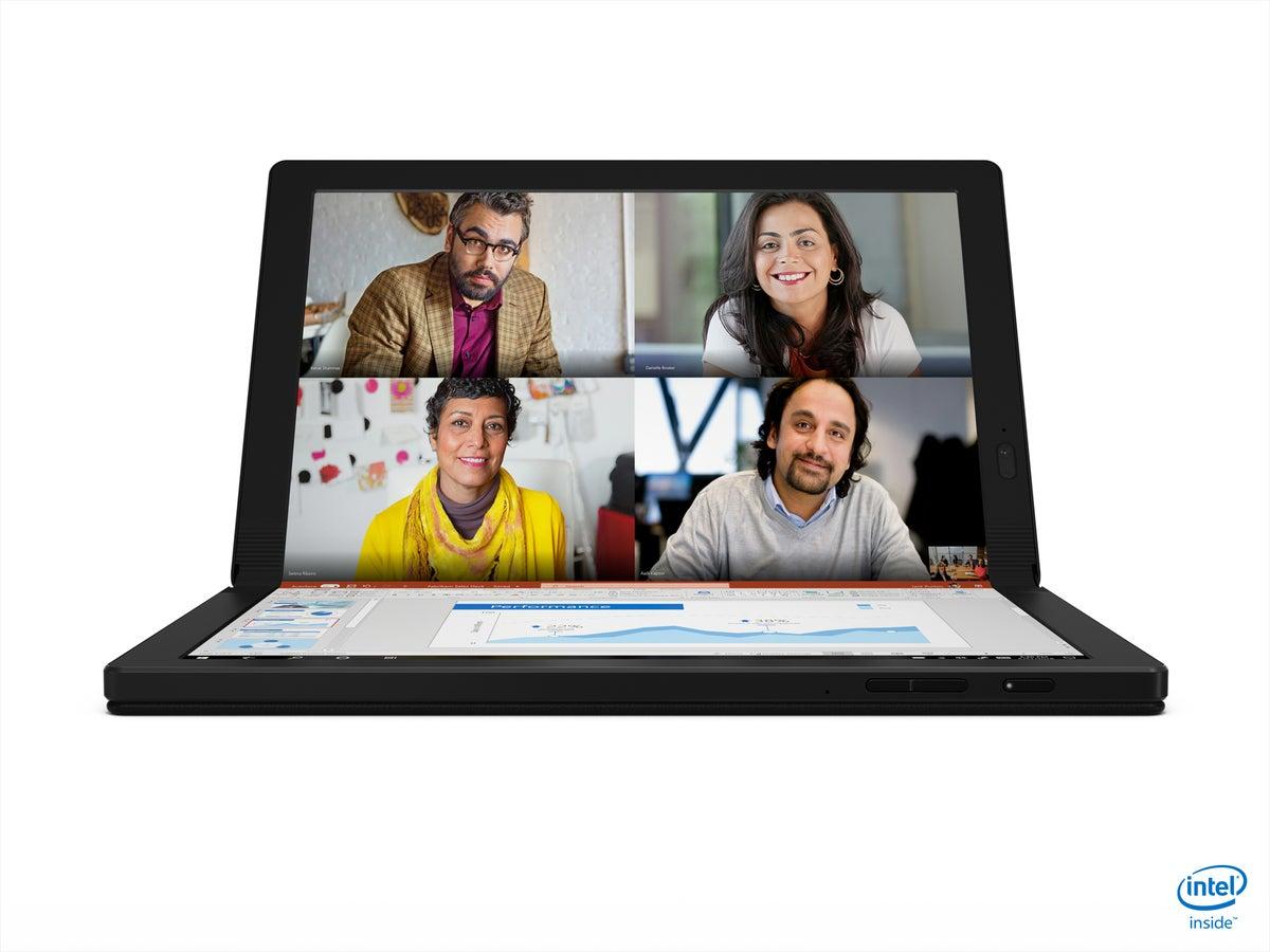 Lenovo ThinkPad X1 Fold clamshell