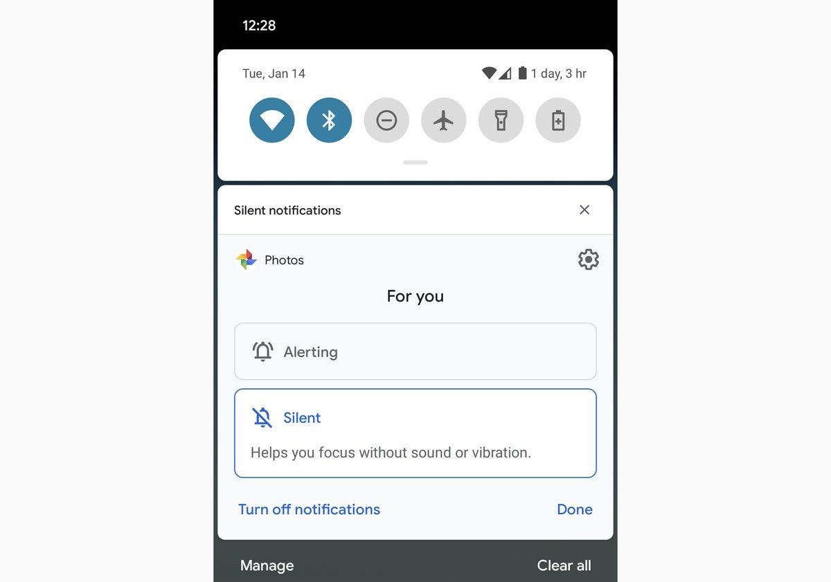 18 notificaciones de consejos de Android