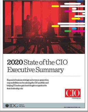 2020 state of the cio