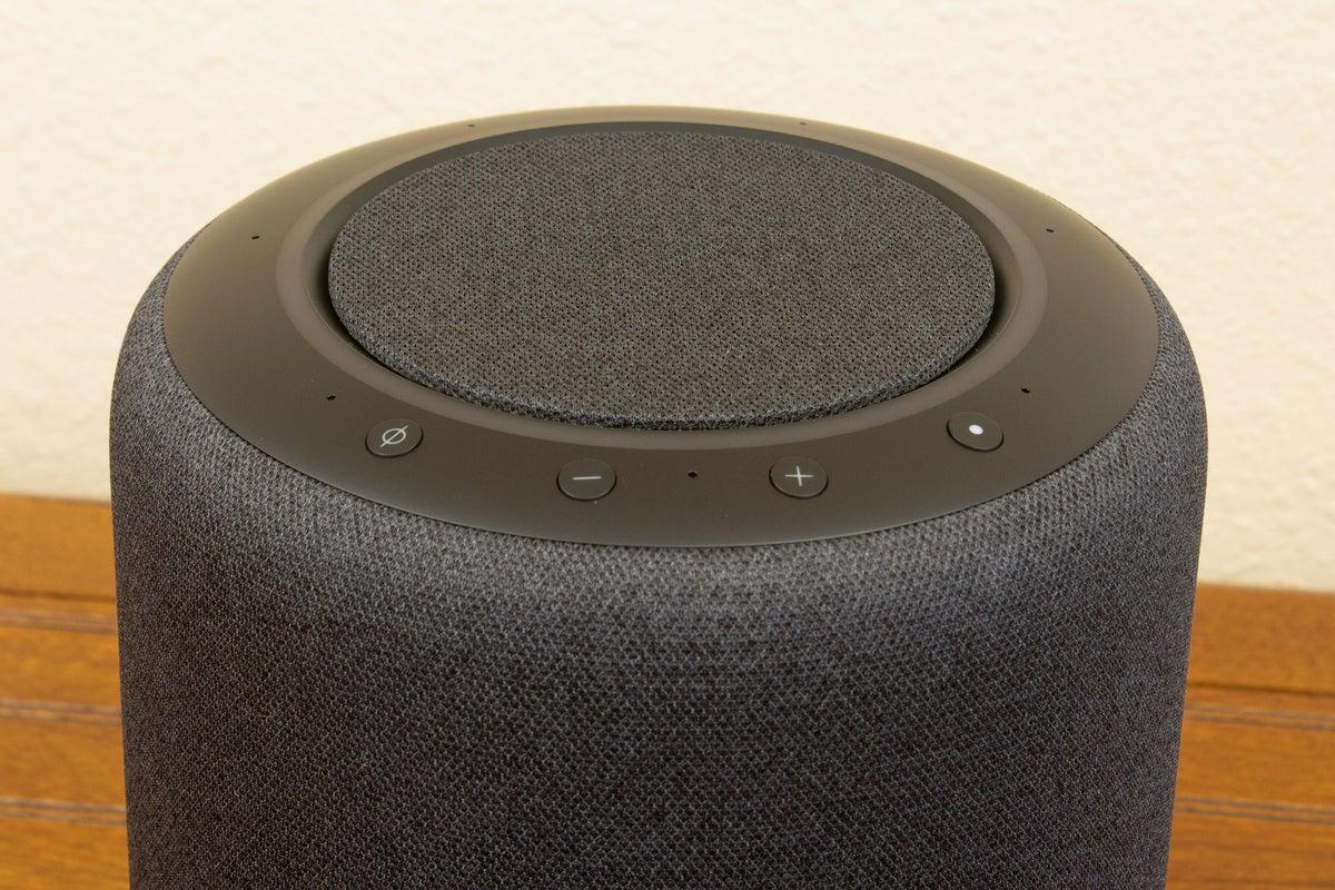 amazon echo studio controls