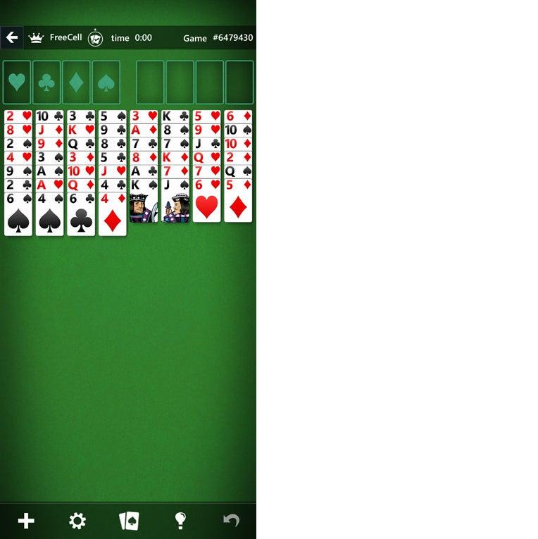 android win10 10 solitario