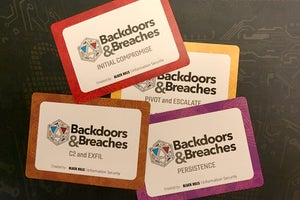 Backdoors and Breaches incident response card game makes tabletop exercises fun