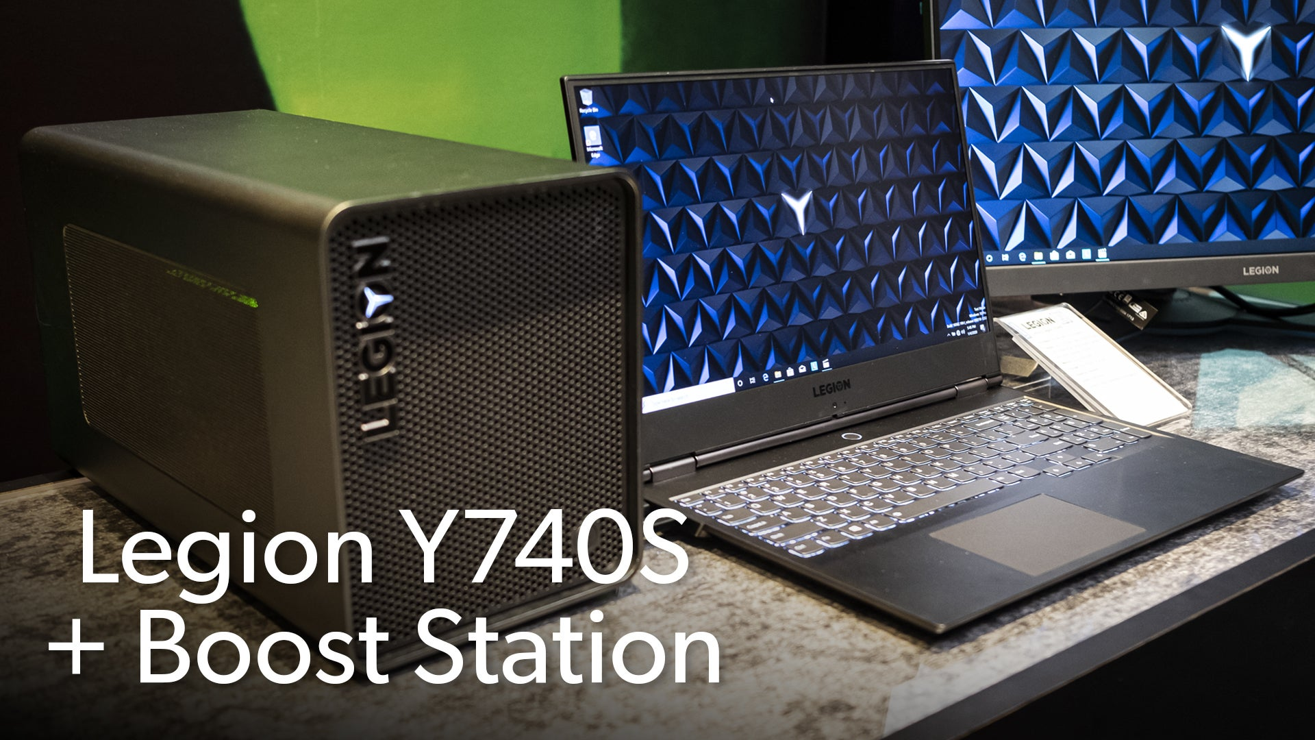 Lenovo Legion Y740S & Boost Station