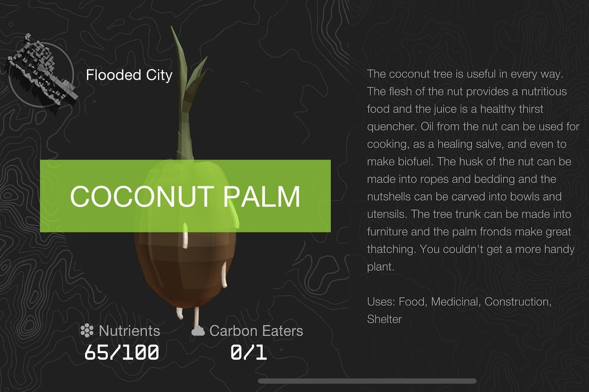 coconut palm doomsday vault
