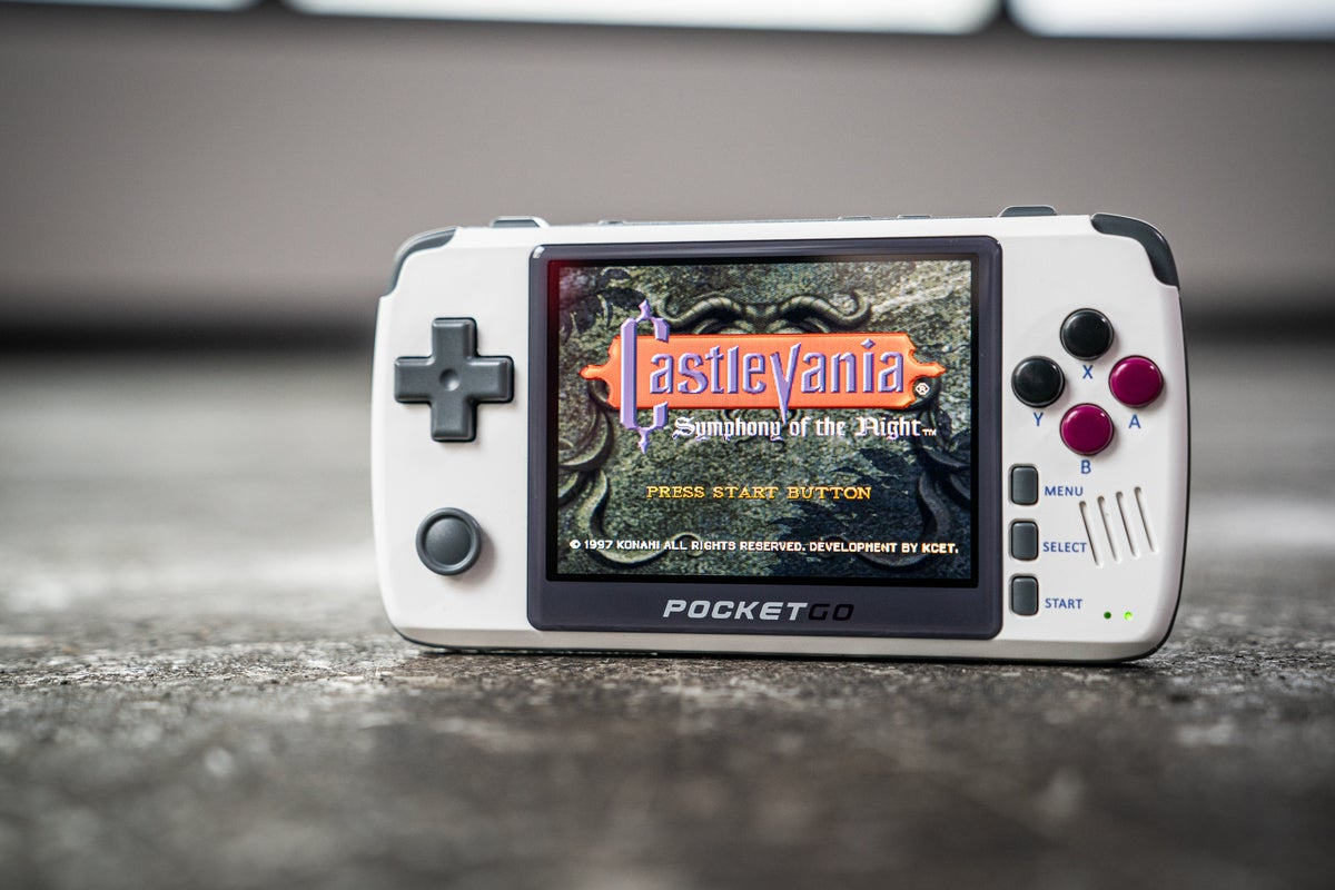 New PocketGo review: Handheld emulation continues to grow