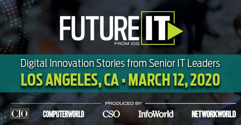 FutureIT, Los Angeles, March 12, 2020