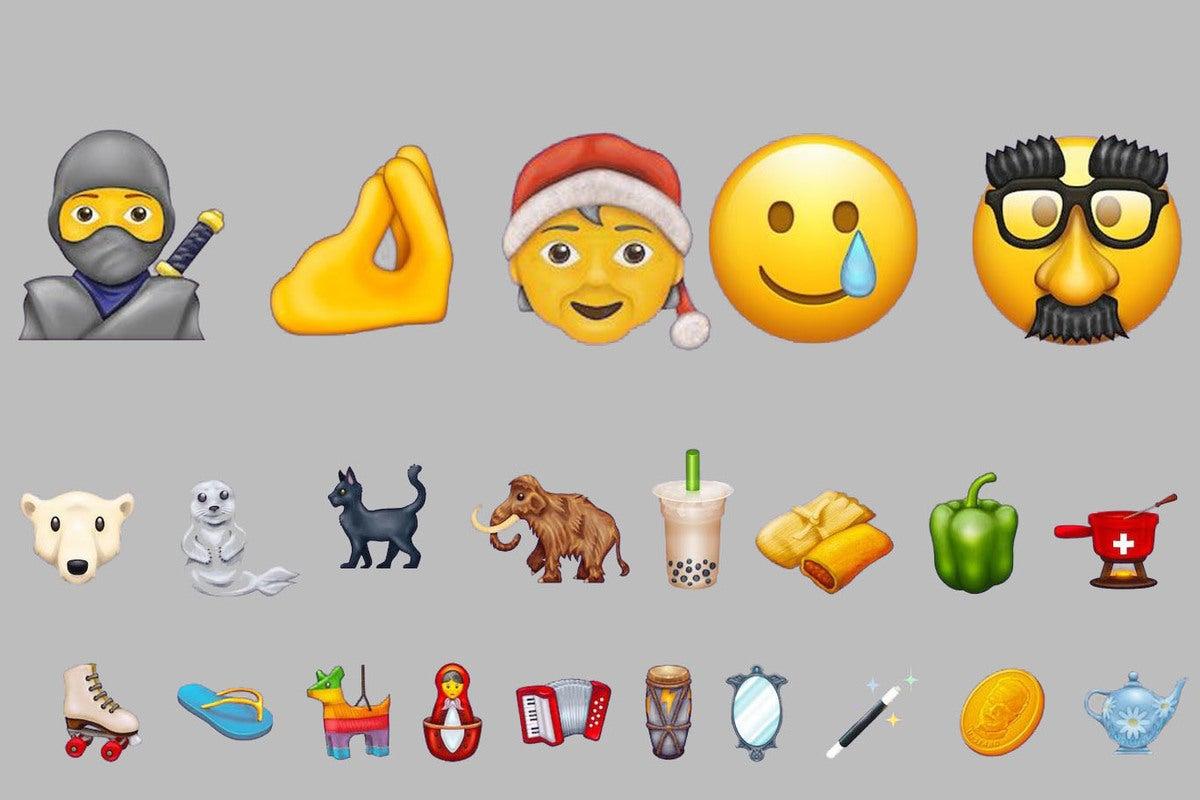 Ninjas! Bubble Tea! Piñatas! These are the 117 new emojis