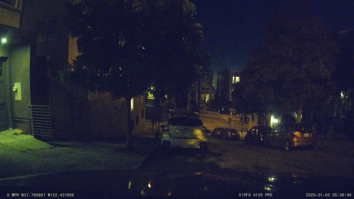 front night no headlight