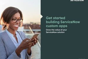 Get started building ServiceNow custom apps