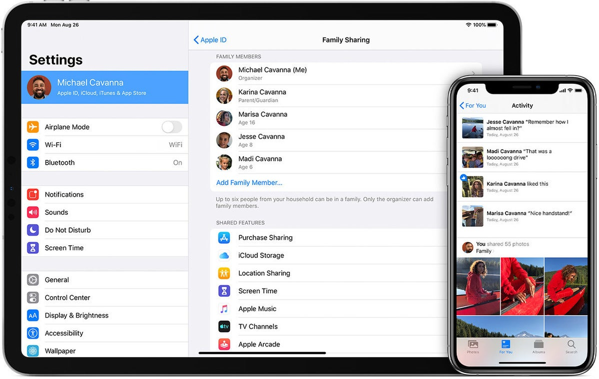 How to set up Family Sharing on your iPhone, iPad, or Mac | Macworld