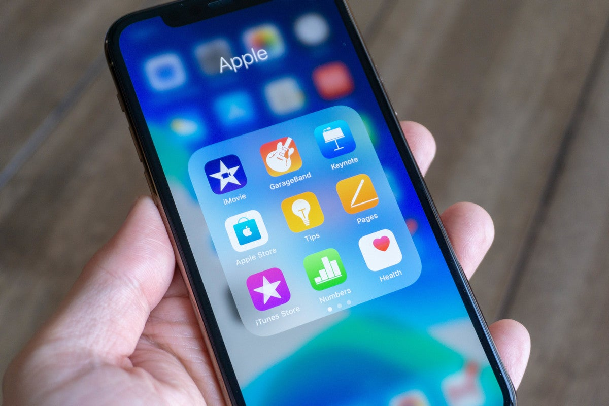 iphone default apps