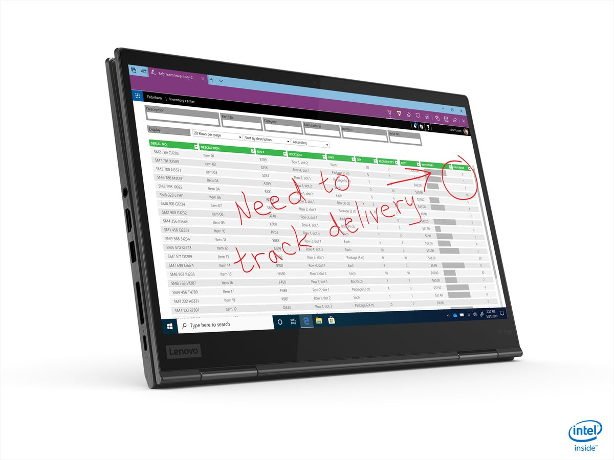 lenovo thinkpad x1 yoga tablet