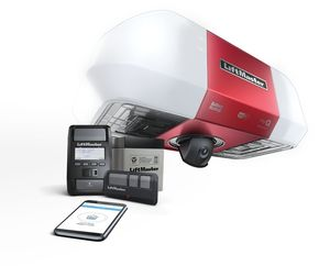liftmaster wifi garage door opener integrated camera