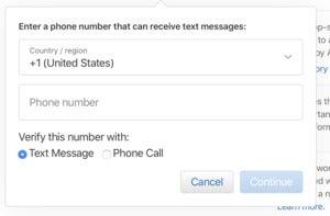 mac911 add trusted phone number apple id