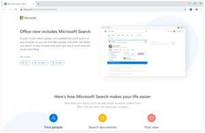 office microsoft search chrome Microsoft
