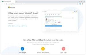 office microsoft search chrome Microsoft