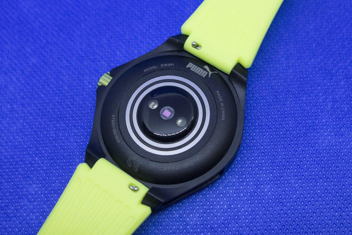 puma smartwatch back