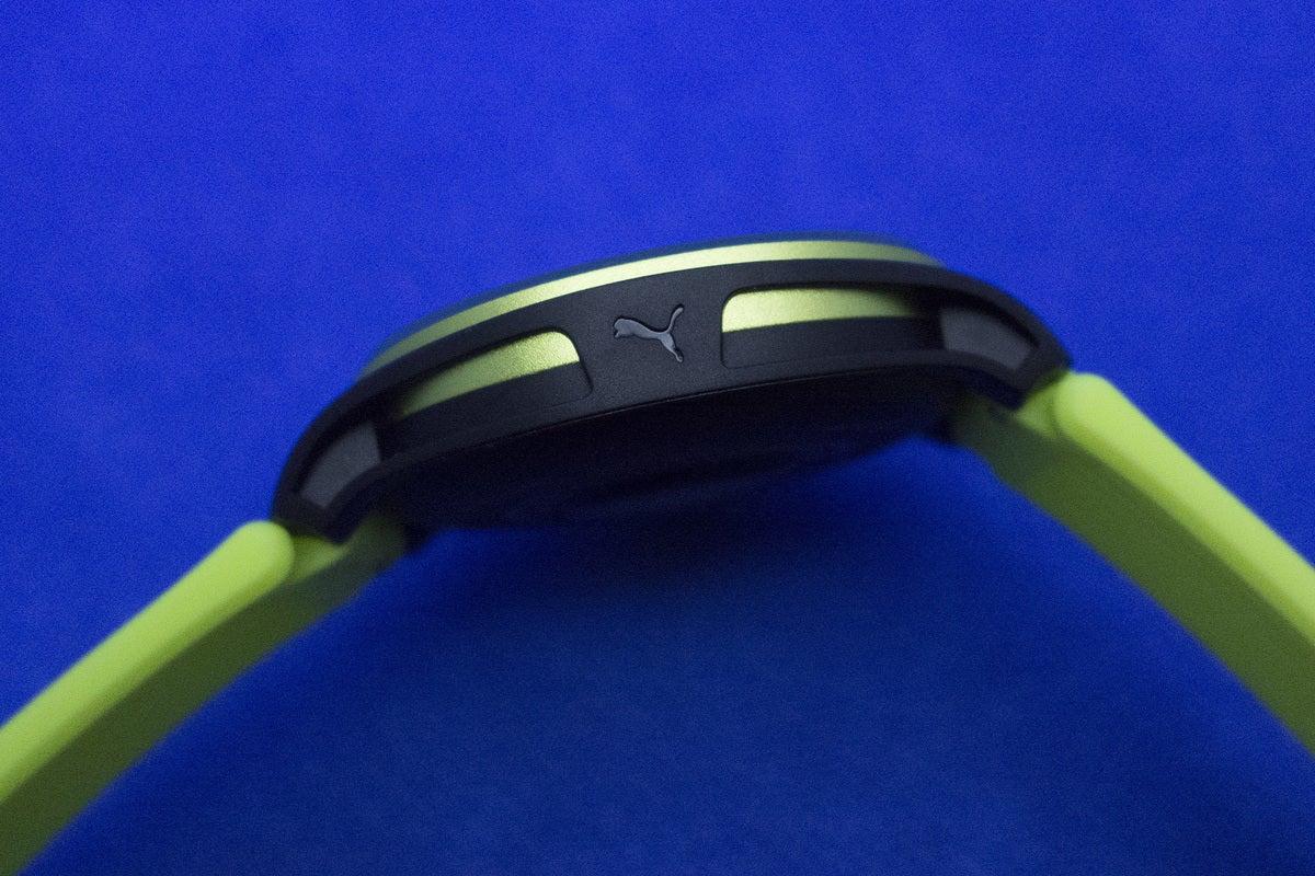 puma smartwatch side