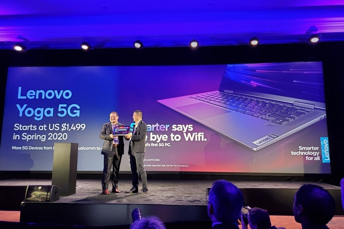 qualcomm lenovo yoga 5g pc