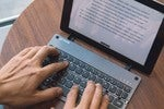 Your iPad is better with a keyboard. This foldable one is 20% now