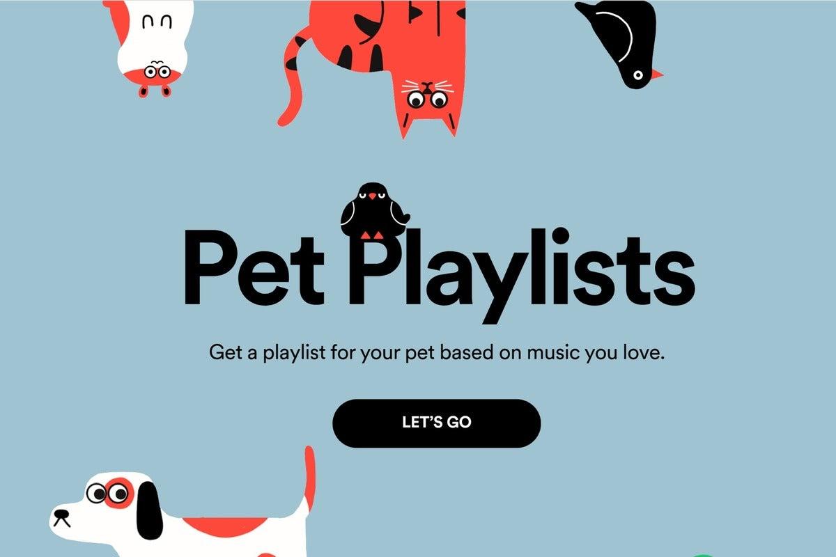 spotify pet playlists