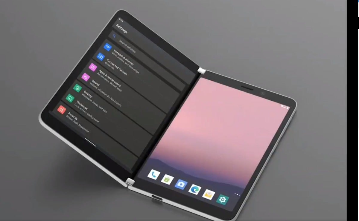 surface duo android render