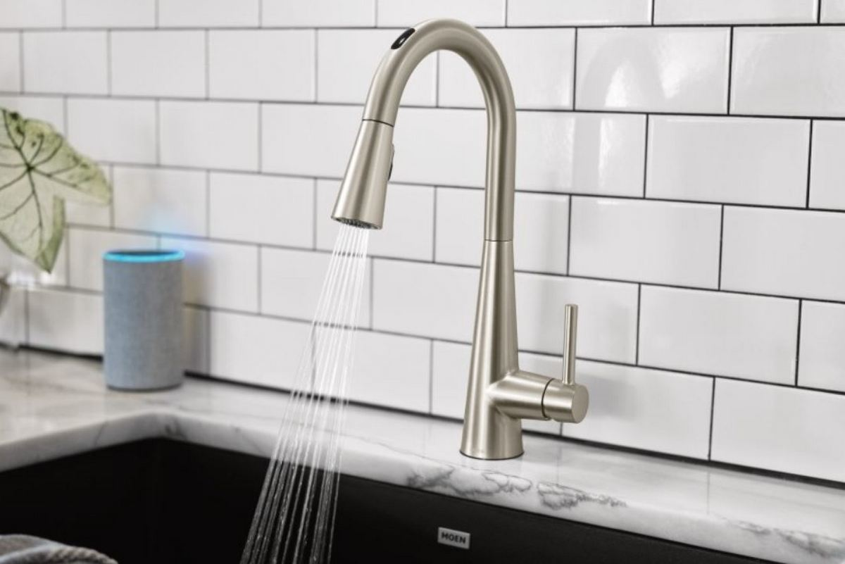 The U by Moen Smart Faucet is packed with smart features for ...