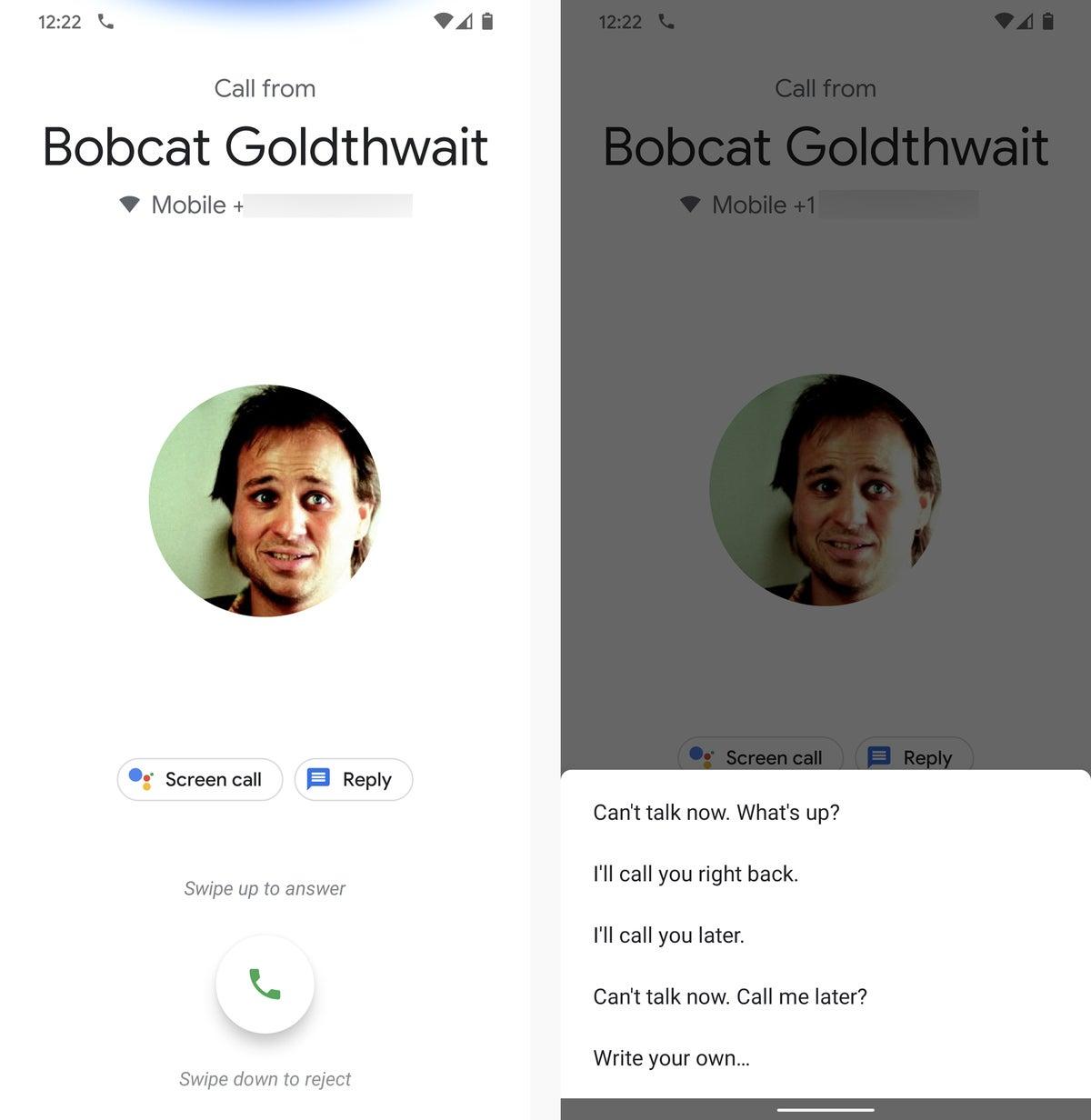 Atajos de Android Rechazo de llamadas 2020