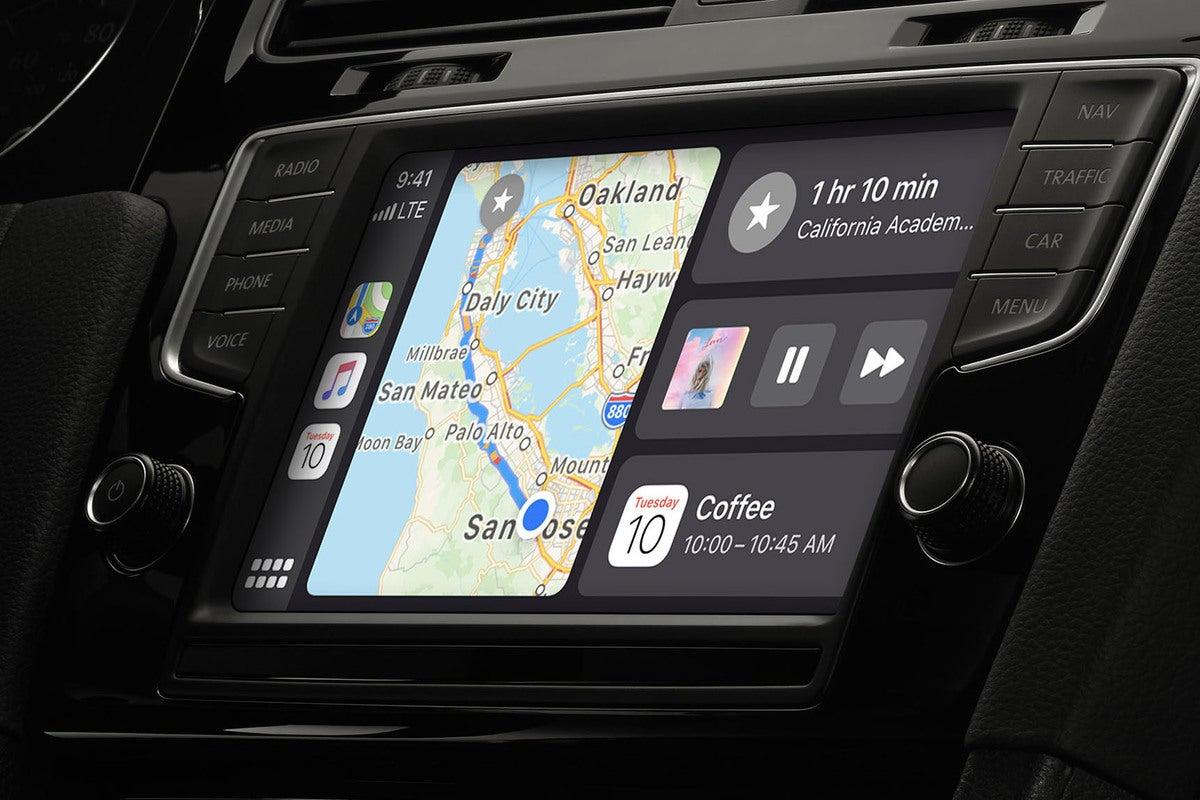 apple carplay interface
