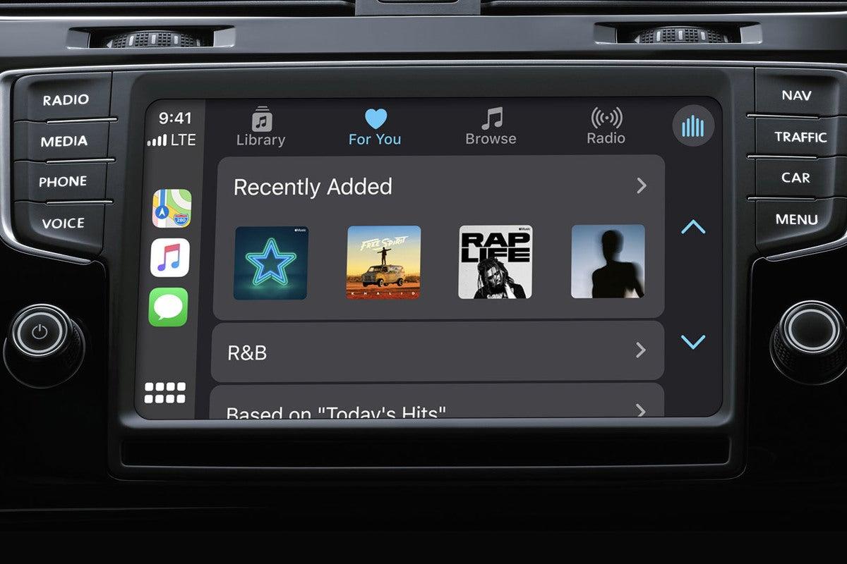 موسیقی Apple Carplay