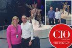 CIO UK podcast episode 25 - Natural History Museum CIO Alison Davis with predecessors Ian Golding and David Thomas on digitisation, data and sustainability