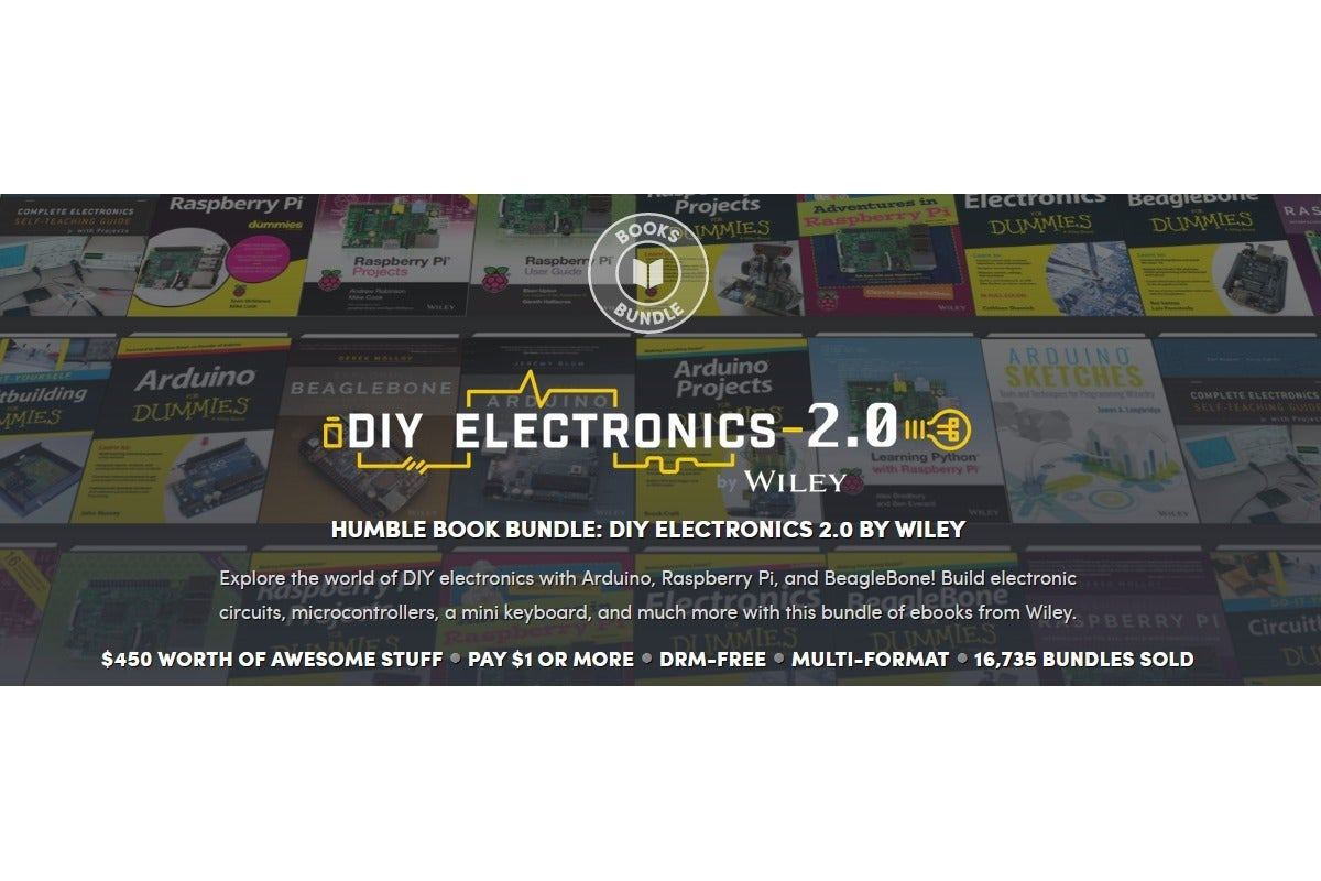 Gain a degree's worth of DIY electronics know-how for less than $20