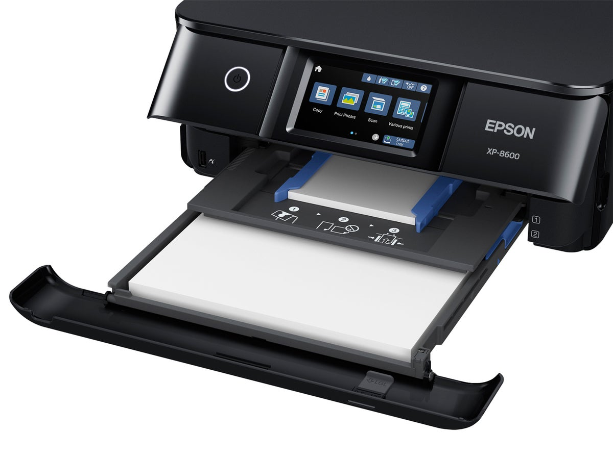 epson expression photo xp 8600 paper tray