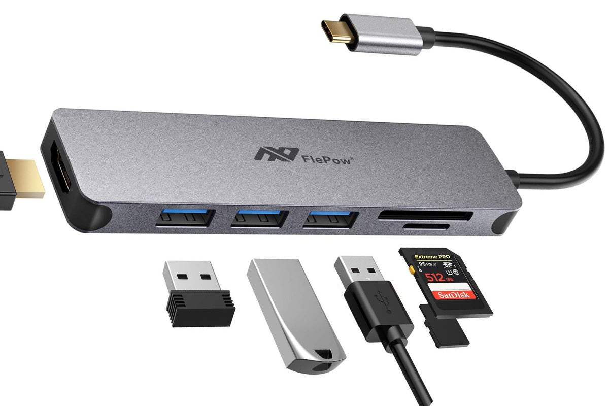 Add ports galore to your PC with this 4.5-star USB-C hub for under $19