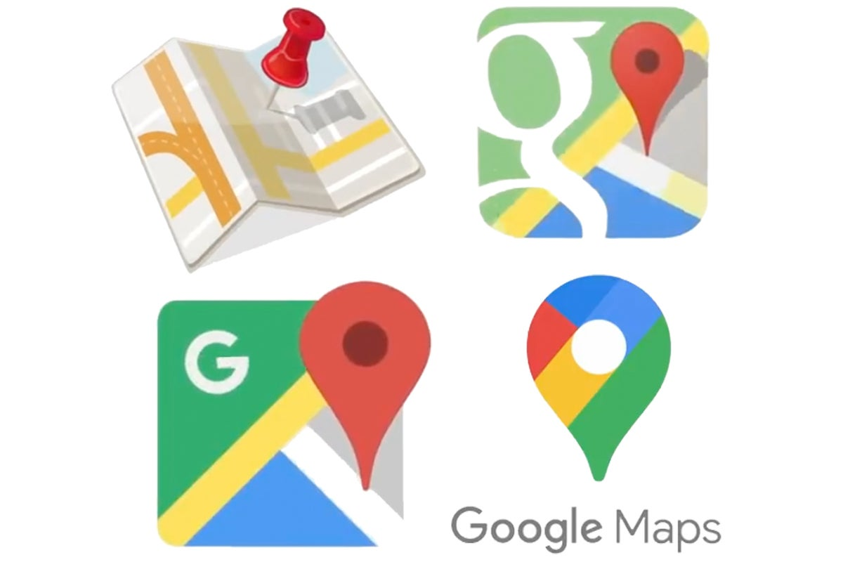 google maps icons