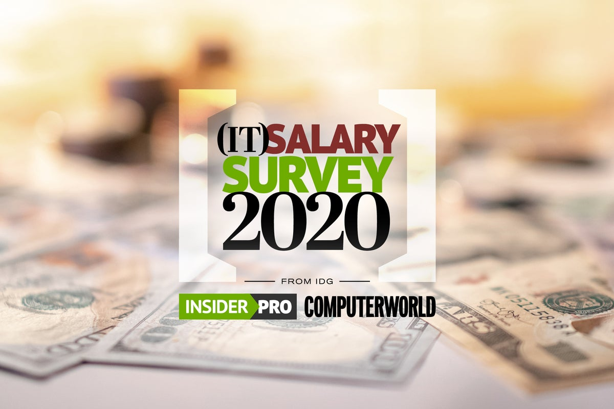 IT Salary Survey 2020 The results are in