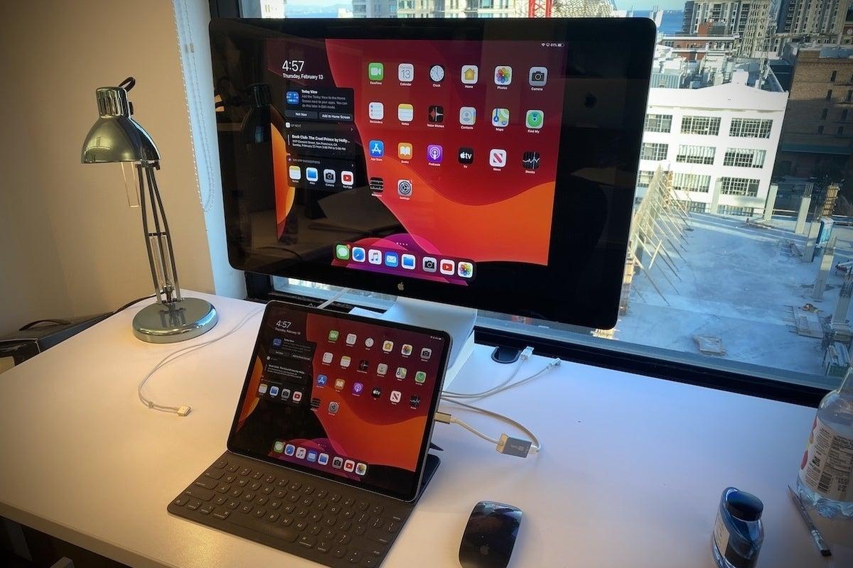 ipados 13 external display